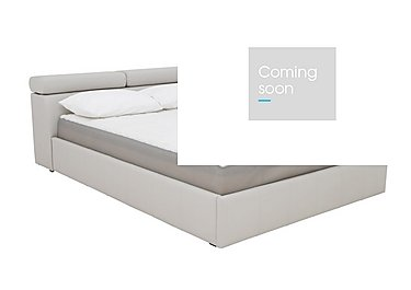 Babylon Bed Frame in Silver Grey on Furniture Village