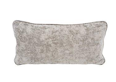 Annalise Bolster Cushion in Crombie Plain Truffle on Furniture Village