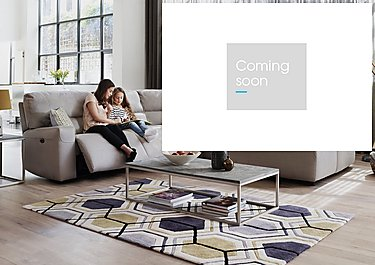 Eden Fabric Recliner Corner Sofa in  on Furniture Village