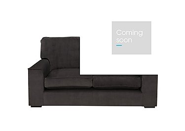 The Avenue Collection 5th Avenue 2 Seater Fabric Sofa in Plush Asphalt Bk Col 1 on Furniture Village