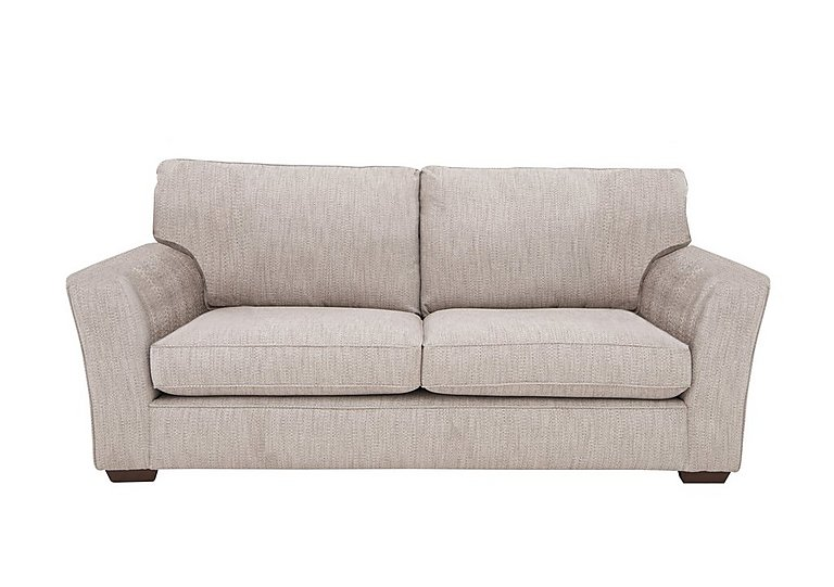 The Avenue Collection Madison Avenue 3 Seater Fabric Sofa in Carson Pebble Dk Col 3 on Furniture Village