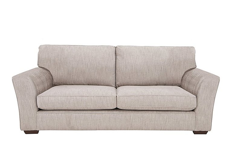 The Avenue Collection Madison Avenue 4 Seater Fabric Sofa in Carson Pebble Dk Col 3 on Furniture Village