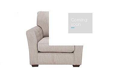 The Avenue Collection Madison Avenue Fabric Armchair in Carson Pebble Dk Col 3 on Furniture Village
