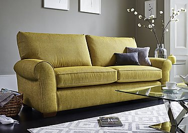 The Avenue Collection Park Avenue 3 Seater Fabric Sofa in  on Furniture Village