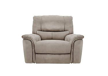 Relax Station Bliss Fabric Recliner Armchair in Bfa-Blj-R946 Silver Grey on Furniture Village