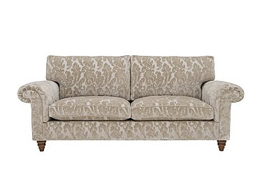 The Prestige Collection Knightsbridge 3 Seater Fabric Sofa in 94965-02 Blessington Sand on Furniture Village