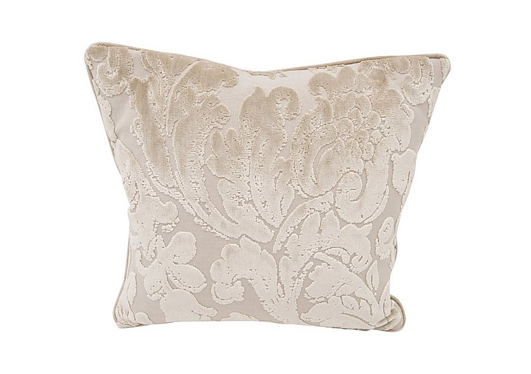 The Prestige Collection Knightsbridge Fabric Scatter Cushion in 94965-02 Blessington Sand on Furniture Village