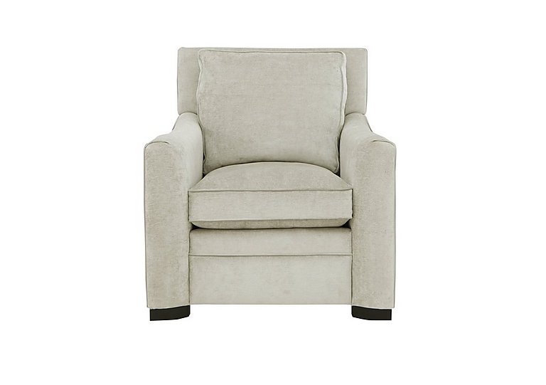 The Prestige Collection Bayswater Fabric Armchair in 2344812 Dolce Magnesium on Furniture Village