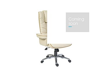East River Pier 17 Office Chair in Cream on Furniture Village