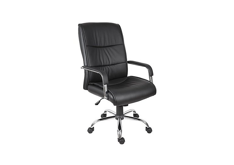 East River Pier 16 Office Chair in Black on Furniture Village