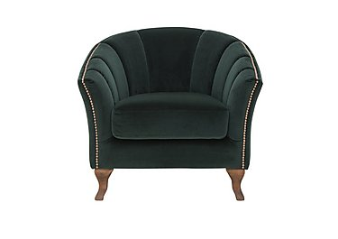 New Romance Betsy Fabric Armchair in Venetian Honeycreeper Wo on Furniture Village