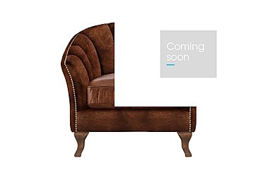 New Romance Betsy Leather Armchair in Cal Original Wo on Furniture Village