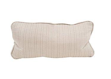 Wellington Single Bolster Cushion in Altan Rib Champagne on Furniture Village