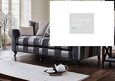 Wellington 4 Seater Pillow Back Fabric Sofa in  on Furniture Village