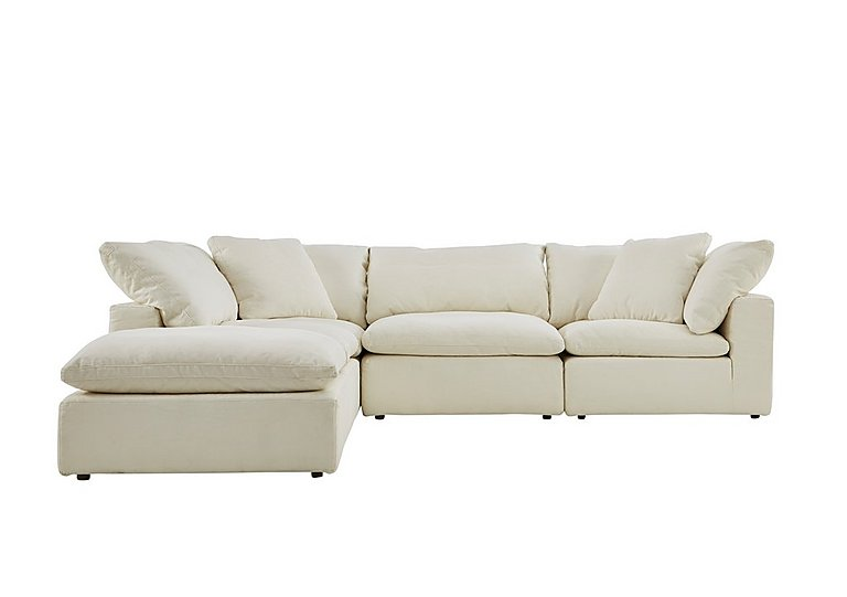 Halo Cloud Corner Sofa With Stool Only One Left Furniture Village