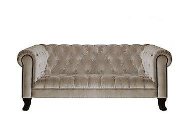 New England Hampton 3 Seater Fabric Sofa in Venetian Sable Dk on Furniture Village