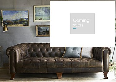 New England Hampton 3 Seater Leather Sofa in  on Furniture Village