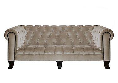 New England Hampton 4 Seater Fabric Sofa in Venetian Sable Dk on Furniture Village