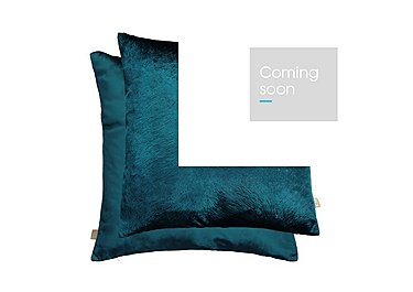 Sirena Cushion in Teal on Furniture Village