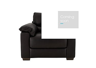Santeramo Leather Armchair - Only One Left! in Madison 20re on Furniture Village