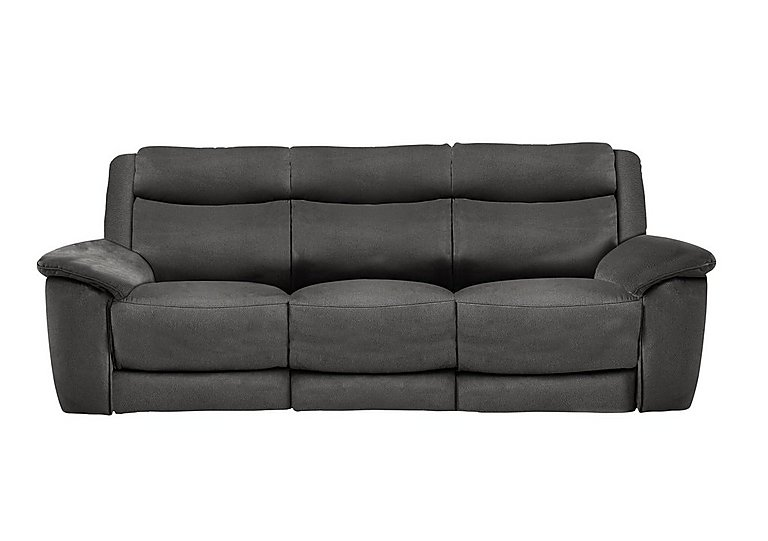 Bounce 3 Seater Fabric Sofa - Only One Left! in Bfa-Blj-Rt16 Grey on Furniture Village
