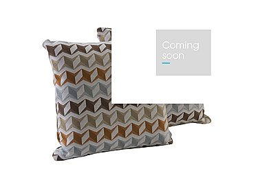 City Loft Pair of Scatter Cushions - Only One Left! in Star Orange on Furniture Village