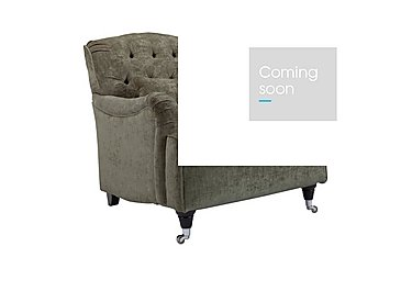 Langham Place Fabric Accent Armchair - Only One Left! in Layton Swedish Blu Drk Ft Col1 on Furniture Village