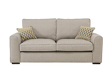 Adora 3 Seater Fabric Sofa in Grey on Furniture Village