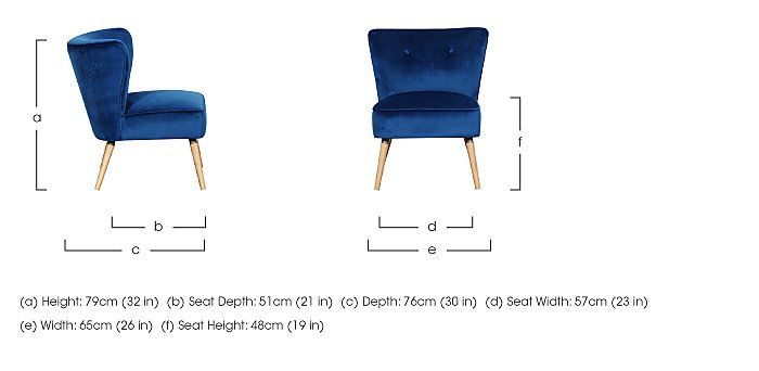Flair Chair in  on Furniture Village