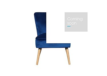Flair Chair in Royal Blue on Furniture Village