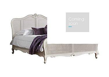 Serena Bed Frame in Chalk Finish on Furniture Village