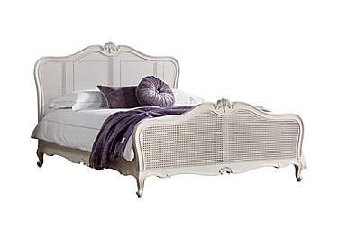 Serena Bed Frame in Chalk Finish on Furniture Village