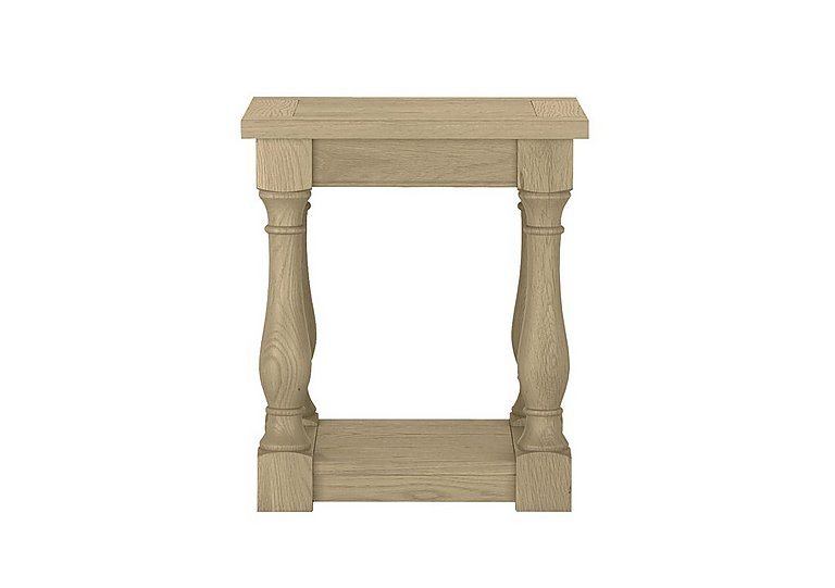 Pierre Lamp Table in Oak on Furniture Village