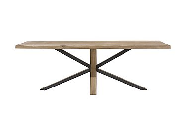 Detroit Starburst Leg Dining Table in  on Furniture Village