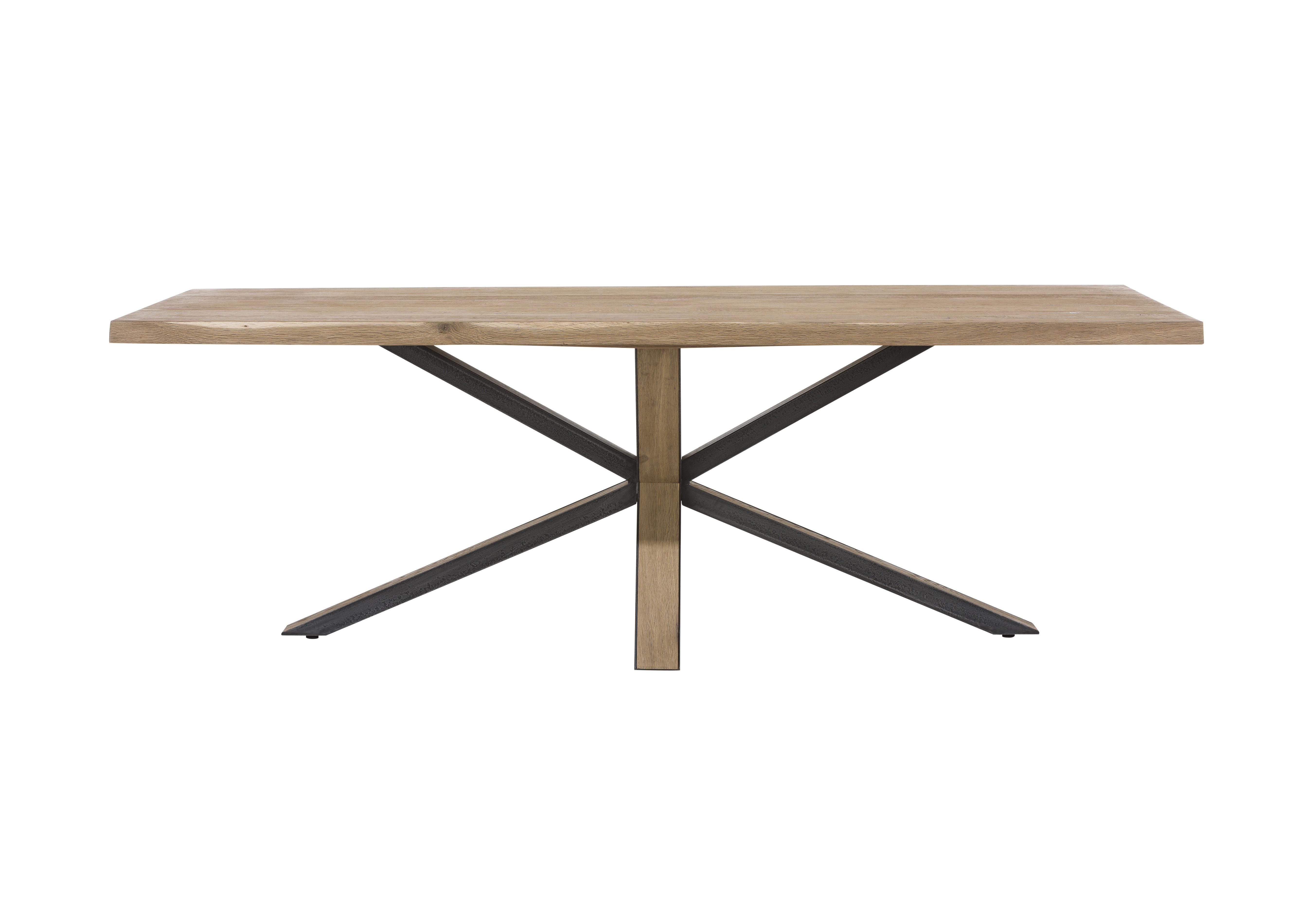 Habufa Detroit Starburst Leg Dining Table