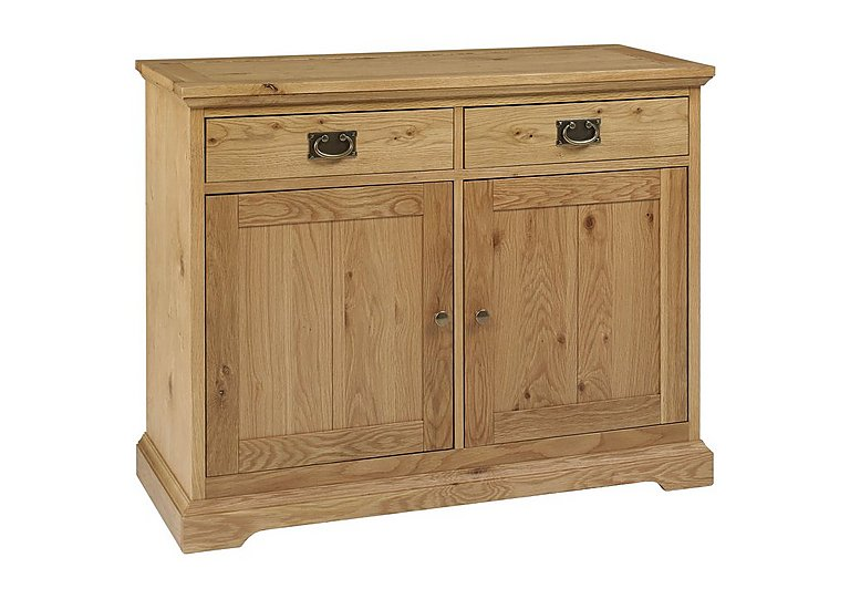 Compton Narrow Sideboard in Oak on Furniture Village