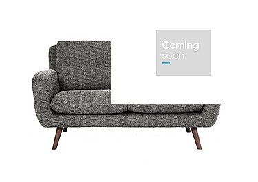 Aldo 2 Seater Fabric Sofa in 5344 Picasso 06 Grey on Furniture Village