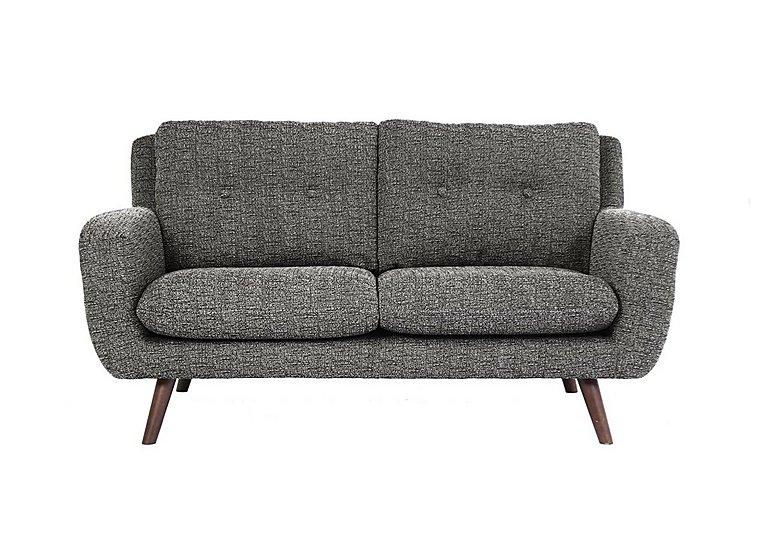Aldo 2.5 Seater Fabric Sofa in 5344 Picasso 06 Grey on Furniture Village