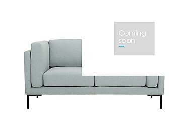 Skye 2 Seater Fabric Sofa in Sunday 45 Pigeon Blue on Furniture Village
