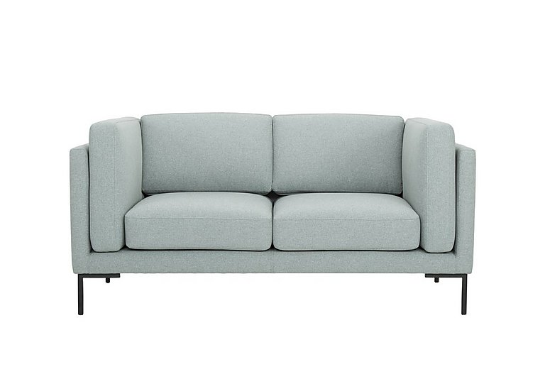 Skye 2 Seater Fabric Sofa in Sunday 45 Pigeon Blue on Furniture Village