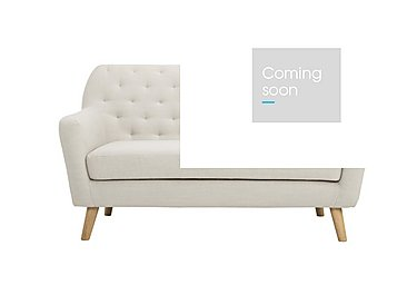 Melody 2 Seater Fabric Sofa in Diego 005 Natural on Furniture Village