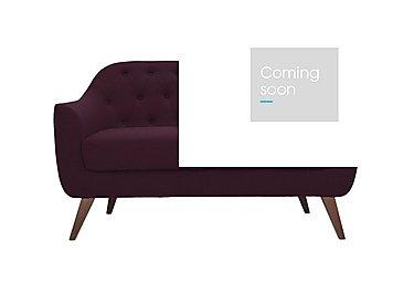 Lexi 2 Seater Fabric Sofa in Andorra 007 Wine on Furniture Village