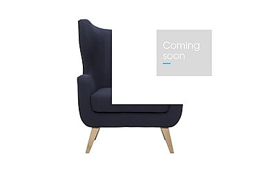 Jude Armchair in Diego 070 Navy on Furniture Village