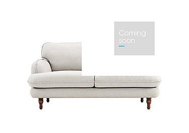 Riley 2 Seater Fabric Sofa in Sunday 39 Light Grey on Furniture Village