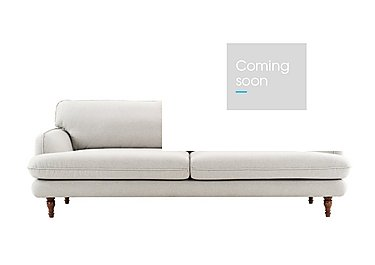 Riley 3 Seater Fabric Sofa in Sunday 39 Light Grey on Furniture Village