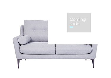 Pia 2 Seater Fabric Sofa in Ex1704 18 Light Grey on Furniture Village