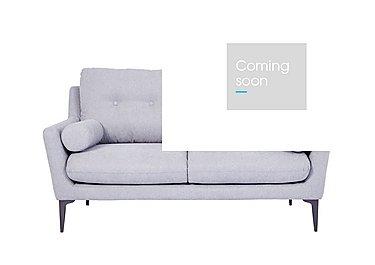 Pia 2 Seater Fabric Sofa in Ex1704 18 Light Grey on Furniture Village