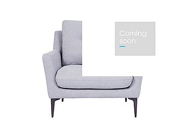 Pia Fabric Armchair in Ex1704 18 Light Grey on Furniture Village