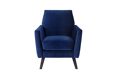 Aria Fabric Armchair in Ex-9209-38 Teal on Furniture Village