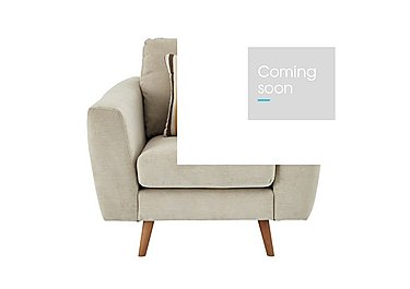 Jenson Fabric Armchair - Only One Left! in Grd-34 Bisque Graceland on Furniture Village